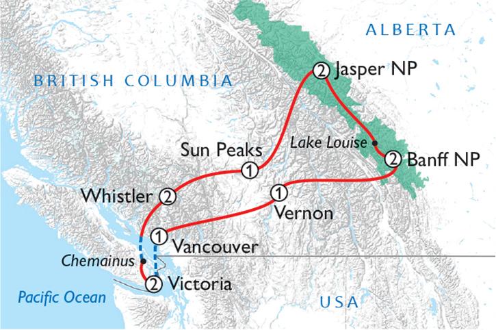 Panoramic Canadian Rockies (2020)