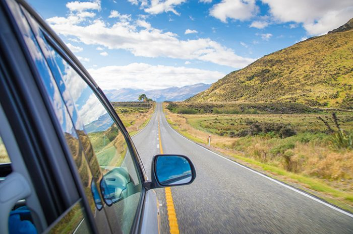 Driving, South Island