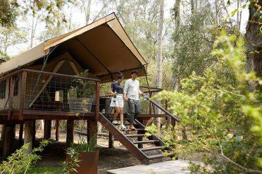 Paperbark Camp, Tent Exterior