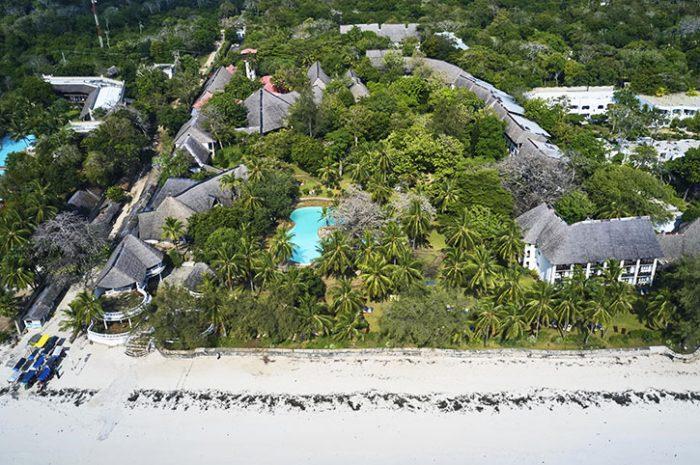 Papillon Lagoon Reef aerial view