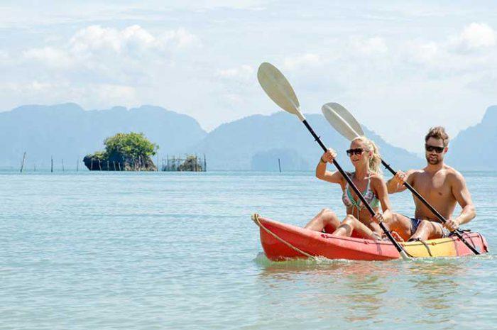 Kayaking, Koh Yao