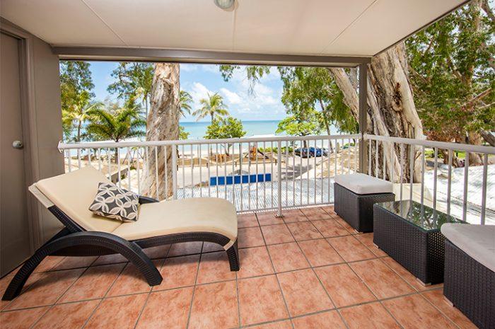 Paradise on the Beach Balcony