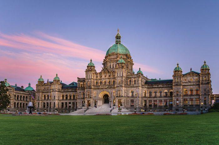 Parliament of BC Victoria