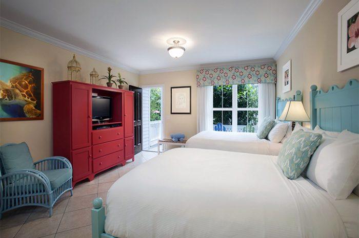 Parrot Key Resort Bedroom