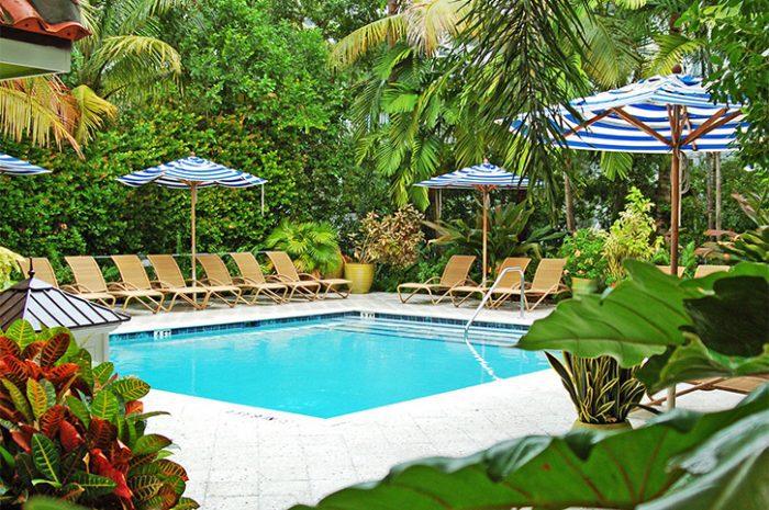 Parrot Key Resort Pool View