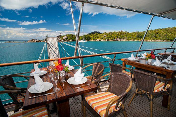 Garden Of Eden Cruise Deck Dining