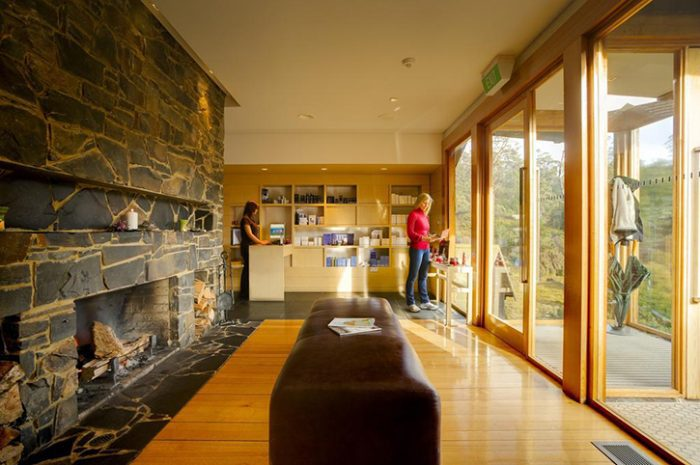 Peppers Cradle Mountain Lodge Lobby