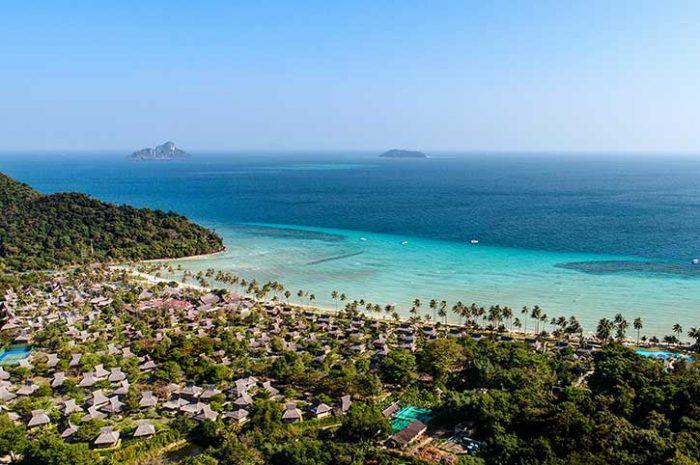 Phi Phi Island Village Resort Aerial
