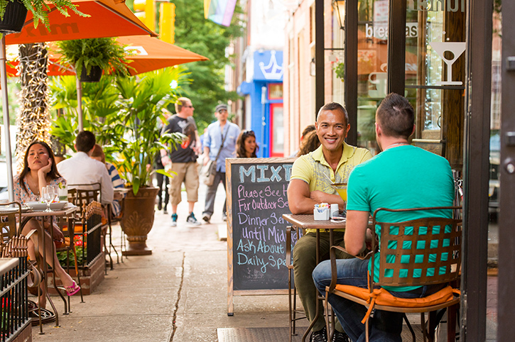 Cafe in Philadelphia