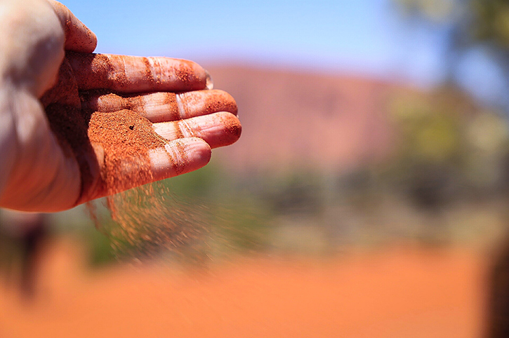 Red Sand at Ayers Rock