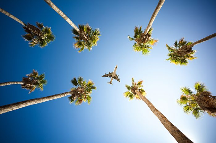 Plane, Los Angeles