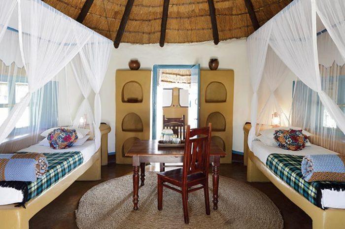 Planet Baobab Hut Interior