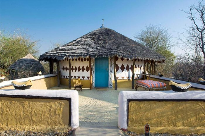 Planet Baobab Hut Room