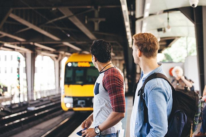 Approaching Train, Sydney, Australia