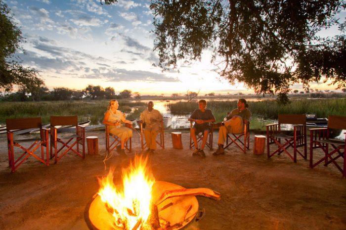 Pom Pom Camp Campfire