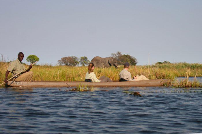 Pom Pom Camp Mokoro Canoe