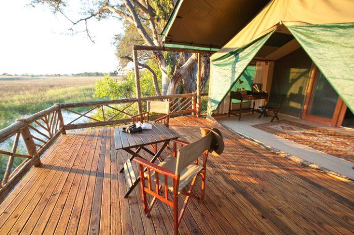 Pom Pom Camp Tent Deck