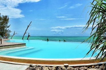 Pongwe Beach Hotel Beachfront Pool
