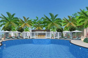 Pool, Doubletree