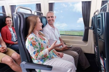 Premium Economy. Spirit of Queensland