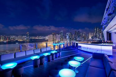 Pullman Park Lane SKYE Rooftop Bar