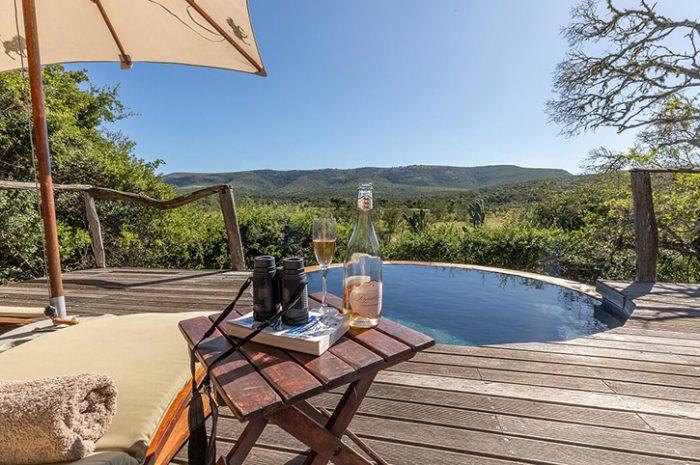 Pumba Msenge private plunge pool