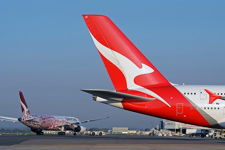 Qantas Aeroplanes