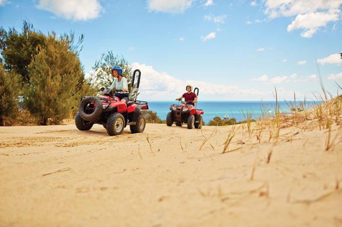 Quad Biking Moreton Island QLD