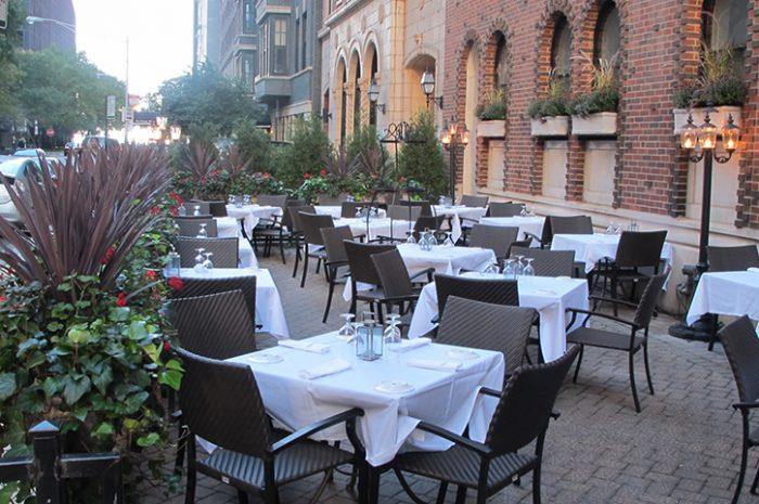 Raffaello Hotel Outside Restaurant