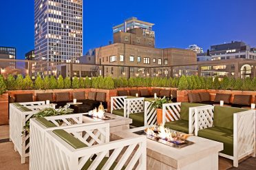Raffaello Hotel Rooftop Area