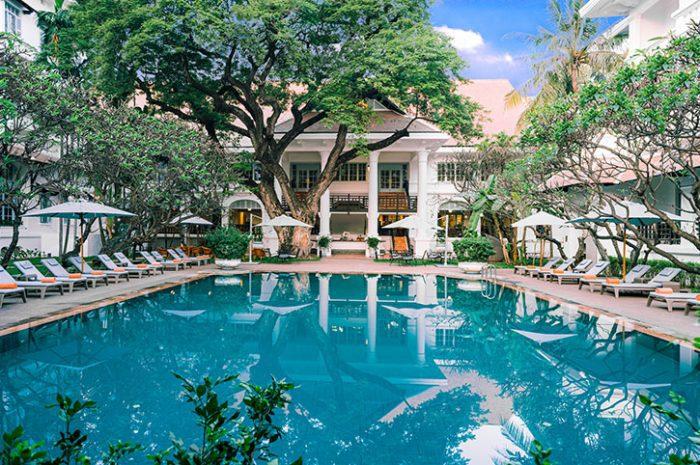 Raffles Hotel Le Royal Swimming Pool