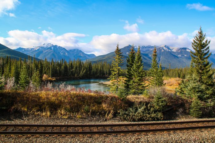 Railway, Canadian Rockies