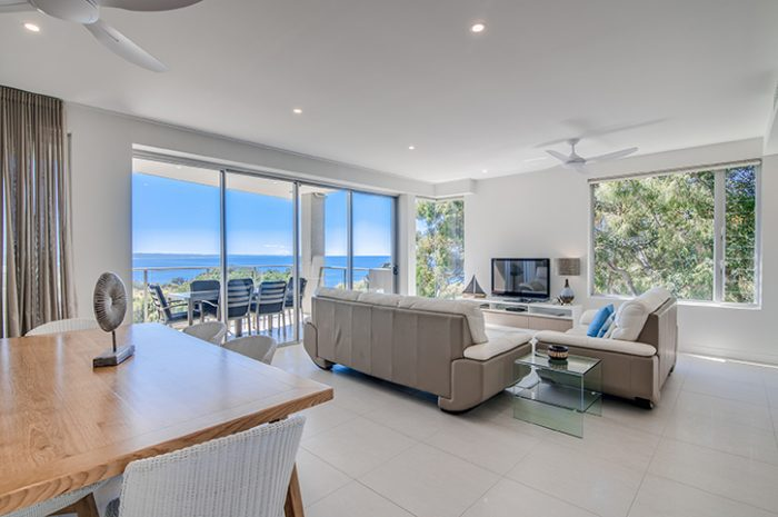 Rainbow Ocean Palms Resort Living Area