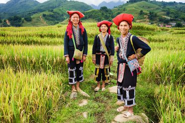 Red Dao Hill Tribe, Sapa