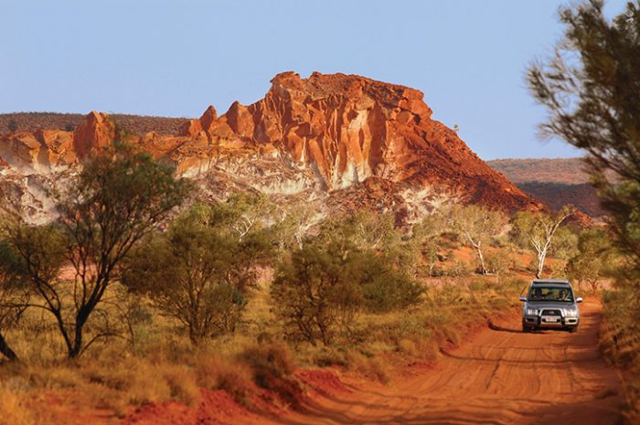 Red Centre Driving, NT