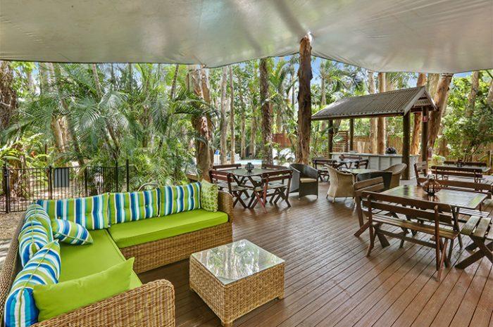 Reef Retreat Palm Cove BBQ Area