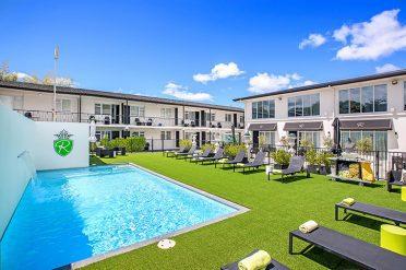 Regent Rotorua Pool View