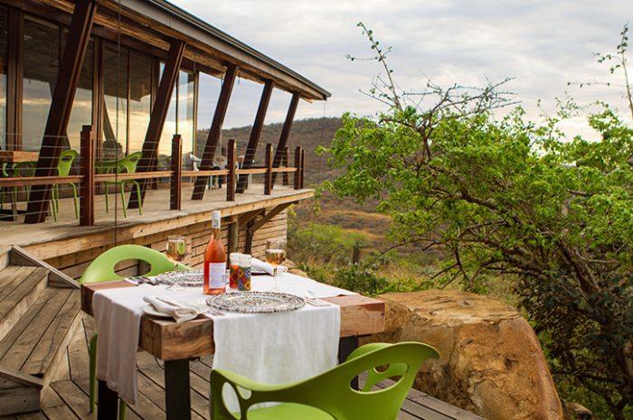 Rhino Ridge Dinner Views