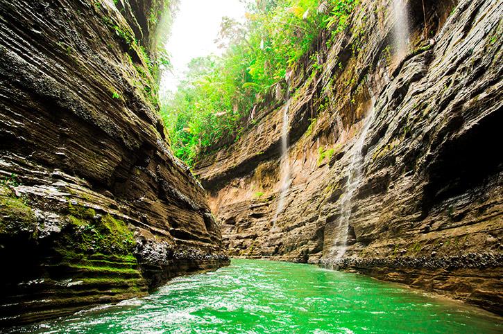 River Canyon Waterfalls, Fiji