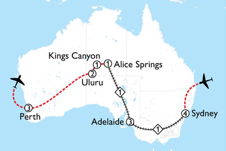 Rock & Rail Map