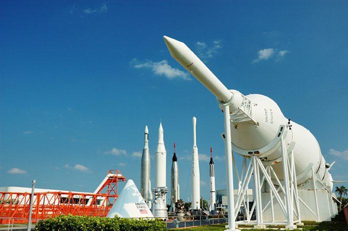 Rocket Garden, Kennedy Space Centre