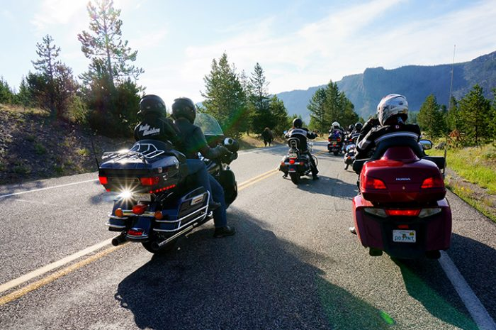 Rockies to Yellowstone Motorcycle Tour
