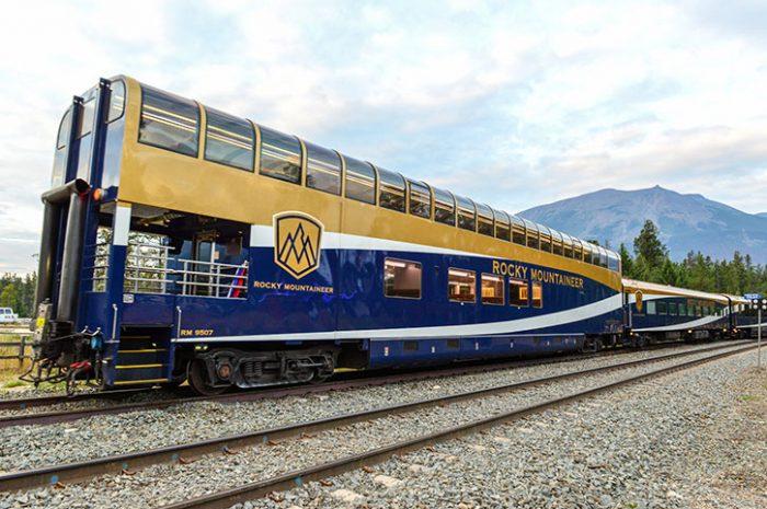 Rocky Mountain Train, Canada