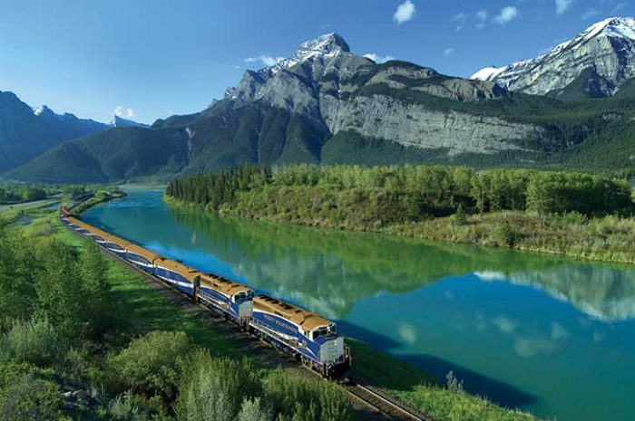 Rocky Mountaineer, British Columbia