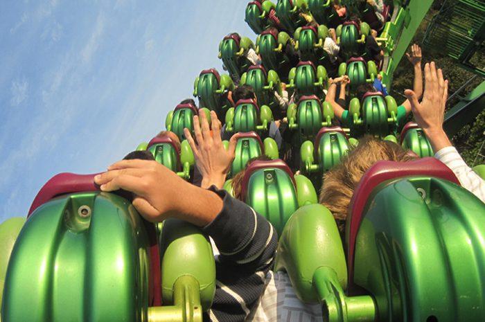 Rollercoaster, Orlando, Florida, South USA