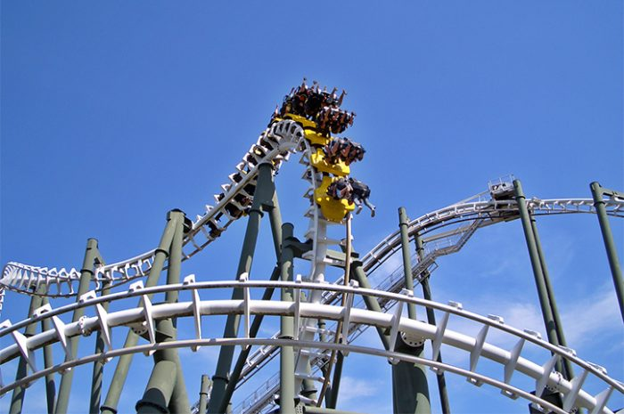 Rollercoaster in Florida Theme Park