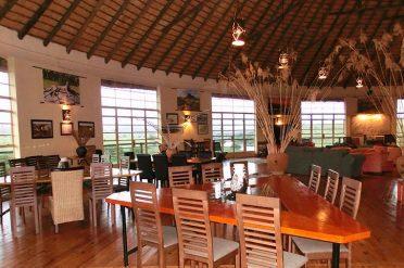 Rorkes Drift Hotel Dining Area