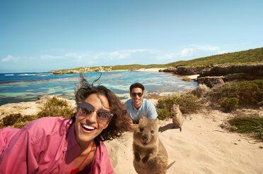 Quokka Selfies, Rottnest Island