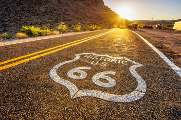 Road on Route 66