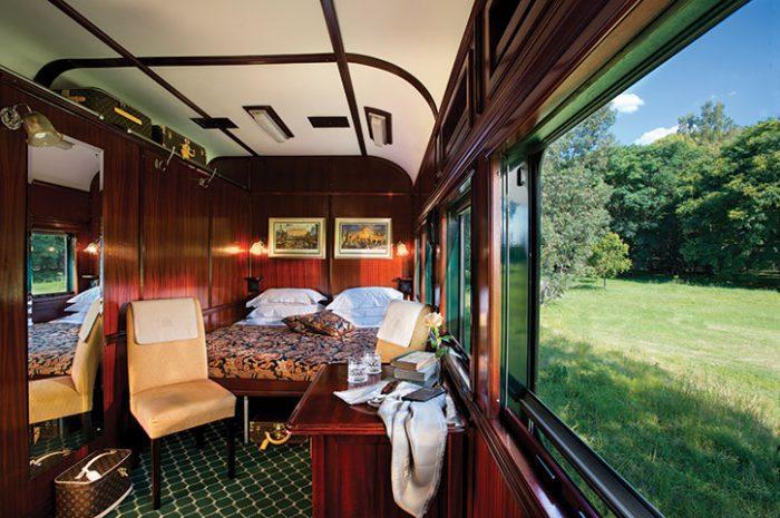 Deluxe Suite, Rovos Rail